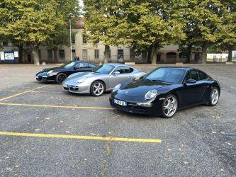 Sortie Porsche Septembre 2015